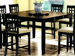 Bar Height Round Dining Table Counter And Stools Tall Kitchen With Bench