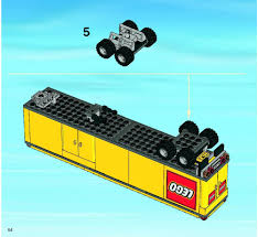 100 Lego Semi Truck LEGO Delivery Instructions 3221 City