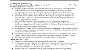 Law Enforcement Resume Summary Samples Promotion Cv Example Examples