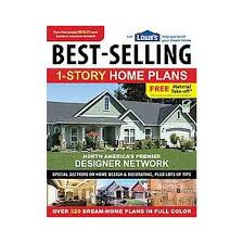 Lowes Homes Plans by Lowe S Best Selling 1 Story Home Plans Paperback Target