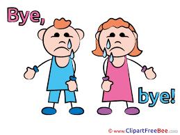 2300x1725 Children Clipart Goodbye Cliparts
