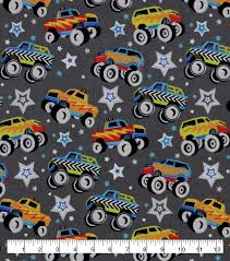 Snuggle Flannel Fabric-Monster Trucks & Stars | JOANN Country Paradise Red Truck Fabric Panel Sewing Parts Online Fire Truck Fabric By The Yard Refighter Kids Etsy Collage Christmas Susan Winget Large Cotton 45 Food Marshall Dry Goods Company Trucks Main Black Beverlyscom Retro Door Hanger Unique Home Decor Wreath Ice Cream Pistachio Flannel By Just Married Honk For Love Print Joann Rustic Old Pickup On The Backyard Abandoned 2019 Tree 3d Digital Prting Waterproof And