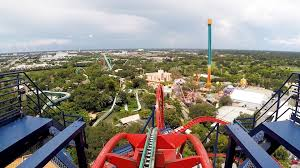 SheiKra Front Row POV Ride at Busch Gardens Tampa Bay on Roller