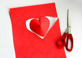 Simple Paper Crafts For Kids And Adults Valentines Day Ideas