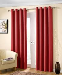 noise cancelling curtains one a curtain hung infront of the window