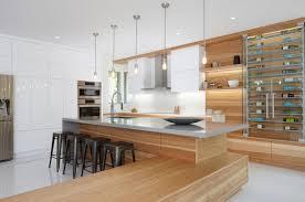carrelage cuisine design armoires de cuisine design le de rail de la lumière trois