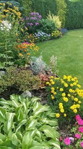 Backyard Flower Garden And Landscaping Design