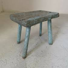Antique Shabby Hand-Carved Wooden Milking Stool Or Small Table, Rustic  Farmhouse Seat | In Finsbury Park, London | Gumtree