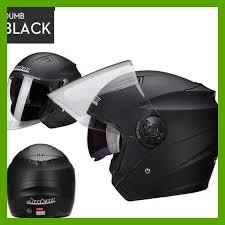 halbe männer motorradhelme dual lens roller moto helm casco