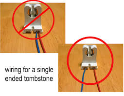 Requires Non Shunted Lamp Holders Tombstones by Replace Or Retrofit Fluorescent Tubes With T8 Led Tube Lights
