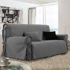 housse de canapé pas cher gris housse de canapé 3 places gris housses de canapé