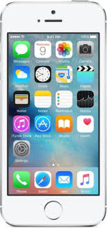 Apple iPhone 5s Silver 16 GB line at Best Price with Great