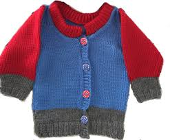 baby boy sweater knitting pattern instructions youtube