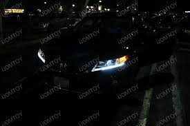 2013 honda accord led running lights for the sedan and coupe