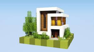 100 Modern Hiuse Super Small Modern House Minecraft