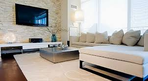 Mesmerizing Living Room Decoration With Various Stone