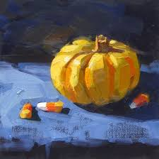 Pumpkin Patch Yucaipa Hours by Karen Werner Fine Art October 2014