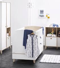 chambre bébé galipette galipette chambre de bébé 3 pièces avec armoire 2 portes lora blanc