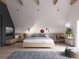 geräumiges schlafzimmer mit dachschräge schlafzimmer