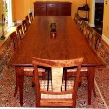 Bubinga Slab Dining Table