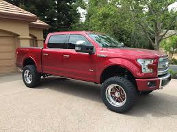Lifted 2015 Plat Ruby Red SC EB - Ford F150 Forum - Community Of ...