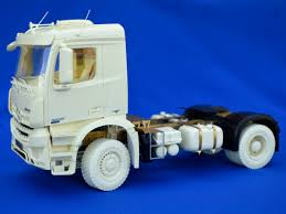 4×4 Chassis For German Construction Truck. Conversion Kit, 1/24 ...