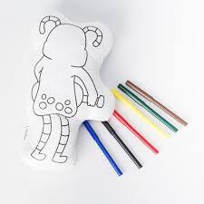 Cuadro Para Colorear Unicornios Monos Deko Shop