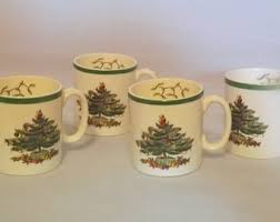 Spode Christmas Tree Highball Glasses by Spode Christmas Tree Etsy