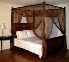 Casablanca Palace Four Poster Bed Canopy Chocolate