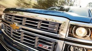 The Unique Chrome Grille Of The Silverado LTZ Z71 Shown In Deep ...