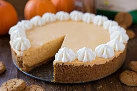 Pumpkin Cheesecake Gingersnap Crust Bon Appetit by No Bake Pumpkin Cheesecake Life Made Simple