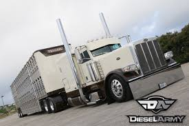 Peterbilt 389 Built By Passion For Hauling Livestock