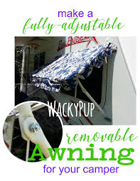 Wacky Pup: How To Make Easy DIY PVC Awnings For Your Camper ... Awnings Easyout Awning Brackets Covington Fabrics Easy Awning Stripe 30 Red Interideratingcom Tutorial How To Make Easy Dollhouse Awning Want Join Follow My Pop Up Retractable For Campers Chrissmith Camp Daytona Youtube Pink The Fabric Mill Patio Amazoncom Apartments Eye Front Door Pergola Cover And Wood Sunsetter Springville Hamburg West Seneca Ny 888 Yellow