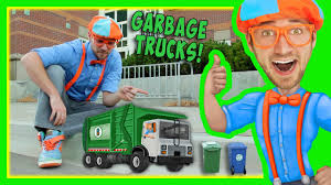 100 Garbage Truck Youtube S For Kids With Blippi Educational Toy Videos For