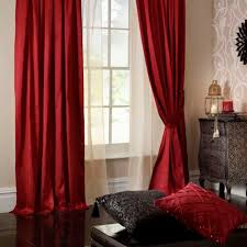Faux Silk Eyelet Curtains by Ruby Cream And Aubergine Lined Curtains Scifihits Com