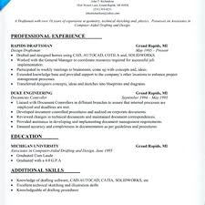 Architect Drafter Resume Example Drafting Examples Of Resumes Draftsman Pic Design