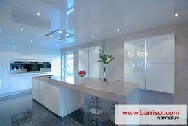 spot eclairage cuisine lighting barrisol spots