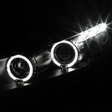 for 2008 2012 honda accord 2dr coupe halo projector headlights