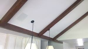 100 Cieling Beams Matching Wood Stain For Ceiling Faux Wood Workshop