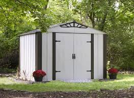 Arrow Woodridge Steel Storage Sheds by Shop Storage Shed Selectsheds
