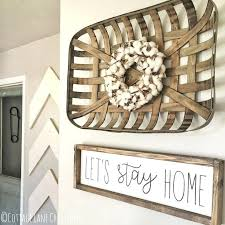 Wall Decor Signs For Home Lets Stay Sign