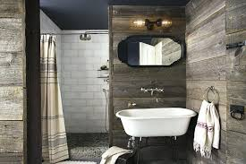 Contemporary Bathroom Wall Decor Luxury Rustic Decoration Ideas Also Curtain Wet Room With