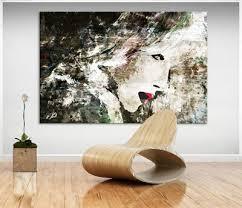 abstrakte frauen figur lippen bild auf leinwand kunst bilder