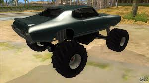 1969 Pontiac GTO Monster Truck For GTA San Andreas Gta Gaming Archive Stretch Monster Truck For San Andreas San Andreas How To Unlock The Monster Truck And Hotring Racer Hummer H1 By Gtaguy Seanorris Gta Mods Amc Javelin Amx 401 1971 Dodge Ram 2012 By Th3cz4r Youtube 5 Karin Rebel Bmw M5 E34 For Bmwcase Bmw Car And Ford E250 Pumbars Egoretz Glitches In Grand Theft Auto Wiki Fandom Neon Hot Wheels Baja Bone Shaker Pour Thrghout