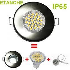 lumiledeco spot encastrable complet led etanche ip65 acier