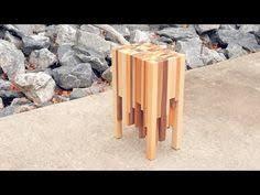 scrap wood side table free diy tutorial wood side tables
