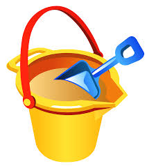 Transparent Beach Bucket And Shovel PNG Clipart
