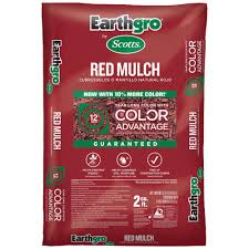 Earthgro 2 cu ft Red Mulch The Home Depot