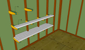garage shelves plans myoutdoorplans free woodworking plans and