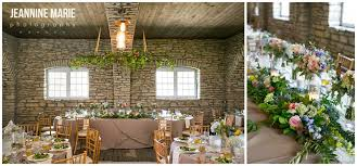 Mayowood Stone Barn Wedding Reception Indoor Head Table Inspiration
